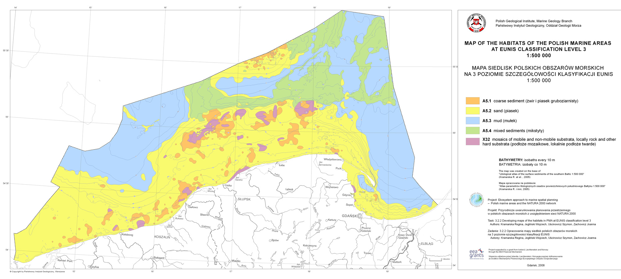Mapa siedlisk - klasyfikacja